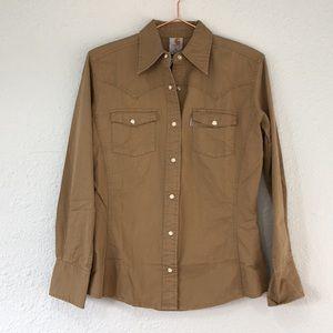 NWT carhartt xs snap western work shirt